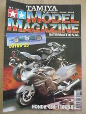 TAMIYA MODELE MAGAZINE N° 33 HONDA CBR 1100 XX; LOTUS 25