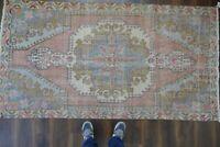 Anatolian,Turkish Rug,Contemporary Oushak Handwoven Wool Antique Carpet 4'x7'7