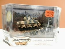 2002 Matchbox Collectibles Sherman Tank M4A3 / 105 mm