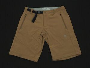 Mountain Hardwear Chockstone Brown Travel Hiking Shorts Mens 32