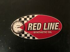 Red Line Synthetic Oil decal sticker racing NASCAR ARCA ASA STOCK CAR LATE MODEL