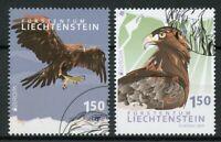 Liechtenstein 2019 CTO Golden Eagle National Birds Europa 2v Set Eagles Stamps