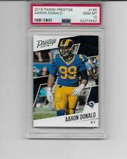 Aaron Donald 2018 Panini Prestige # 185 PSA 10 Rams