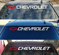 Chevy Trucks 1500 Window Sticker Bed Tailgate Vinyl Decal Chevrolet