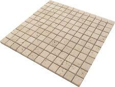 Mosaikfliesen Mosaiknetze Mosaiksteine antikmarmor Travertin Crema Wohnrausch