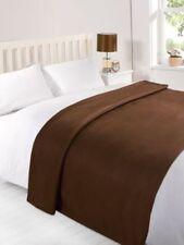 Édredons et couvre-lits marron modernes pour salon
