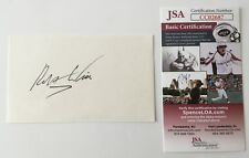 Robert Wise Signed Autographed 3x5 Card JSA Certified West Side Story