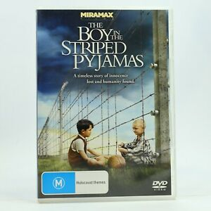 The Boy In The Striped Pyjamas DVD Good Condition Free Tracked Post AU