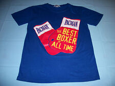 Team MANNY PACQUIAO Best Boxer All Time T-Shirt Size Small Pacman Boxing Gloves