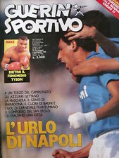 Guerin Sportivo 48 1986 [gs.27] Fiorentina Roma incidenti tifosi-Antonio Cabrini