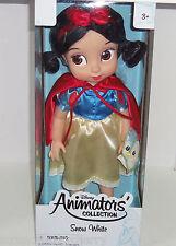 Disney Princess Snow White Doll Little Animators Dwarf Collection Glen Keane New