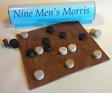 Nine Men's Morris; perhaps THE most popular historic board game; multi-period