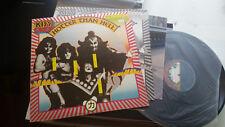 '76 KISS LP HOTTER THAN HELL CASABLANCA vip6340 JAPAN rare bogey w/poster +insrt