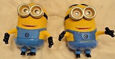 2 Battery Operated Electronic Minions Character Toys Despicable Me