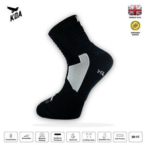 KOA® ELITE Performance cushioned Cycling and Running socks for autumn & winter