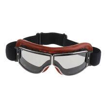 Kratzfest,motorrad retro brille glasse sonnenbrille  für Harley Helm Pilot