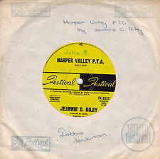 JEANNIE C. RILEY Harper Valley P.T.A. / Yesterday All Day Long Today 45