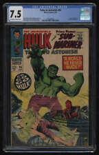 Tales to Astonish #95 CGC 7.5 OW/W Pgs Incredible Hulk Sub-Mariner Marvel