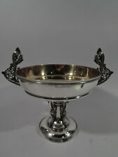 Tiffany Mooresque Compote - 1697 - Antique Exotic - American Sterling Silver