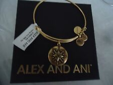 ALEX AND ANI HEALING LOVE  Russian Gold Bangle  Bracelet New W/Tag Card & Box