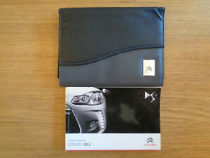 Citroen DS3 Owners Handbook/Manual and Pack 10-14