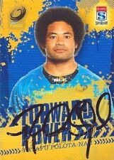 Autographed Original Western Force Rugby Union Trading Cards