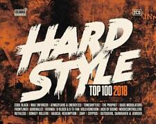 HARDSTYLE TOP 100-2018 -   2 CD MIT CODE BLACK THE PROPHET TONESHIFTERZ UVM NEW+