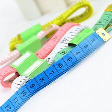 2*Mètres à ruban durables Couleur aléatoire Instruments de mesure portable chaud