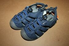NWT Gymboree Island Hopper size 12 Blue Strappy Trail Sandals Shoes