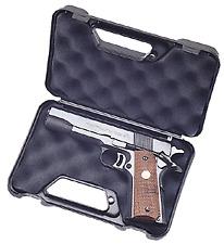 NEW! MTM Pocket Pistol Case (Black) 803-40