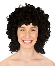 Adult Women Dark Brown Olympian Lady Wig Halloween Cosplay Party Costume HW-226A