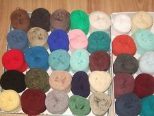 30 Balls wool crochet knitting crafts YARN CAKES assorted ply NO DUPLICATES