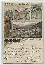 CARTOLINA 1901 SOUVENIR CACAO SUCHARD 578/A