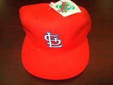 ST LOUIS CARDINALS NEW ERA DIAMOND WOOL  FITTED SZ 7 3/4 1990S VINTAGE HAT CAP