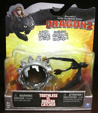 RARE NEW Dreamworks How To Train Your Dragon Toothless VS Catcher Figurine