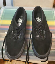 Vans Off The Wall Womens Size 9.5 Black sneakers