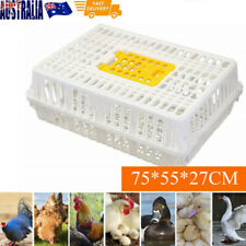 Chicken Poultry Transport Crate Carrier Cage Farm Equipment Dove Bird Rabbit