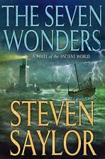 The Seven Wonders : A Novel of the Ancient World  (ExLib) by Steven Saylor