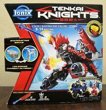 Tenkai Knights 13001 DRAGON 2-in-1 SET + Dromus & Leinad minifigs