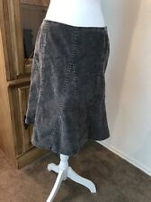 Gap Size 4 Gap Stretch Flare Skirt Color Grey Woman's