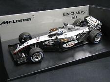 Minichamps McLaren Mercedes MP4/18 2003 1:18 #5 Coulthard (FIN) Testcar (JS)