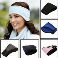 Winter Unisex Ear Warmers Cover Headband Sports Headwrap Fleece Ear muffs Warm