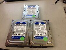 "Lot of 3 Western Digital WD5000AAKX-60U6AA0 500GB 3.5"" SATA Hard Disk Drive"