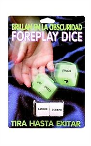 Foreplay Dice Spanish Version - Couples Lovers Sexual Game