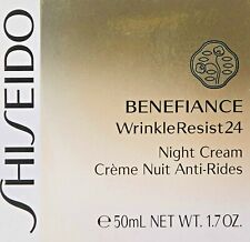 SEALED Shiseido Benefiance WrinkleResist24 Night Cream, 50 ML 1.7 oz
