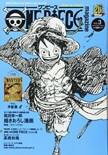 New ONE PIECE Luffy Magazine 3 Anime Comic Japan Book Manga 20th Aanniversary