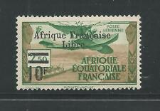 FRENCH EQUATORIAL AFRICA # C16 MHG FREE FRENCH