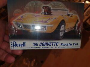 Revell 1:25 1968 Chevrolet Corvette Roadster 2'n1 Art.Nr. 85-2544 Rarität