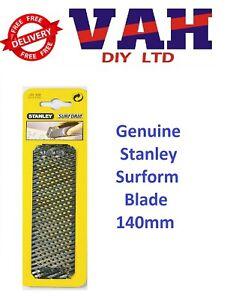 Stanley 140mm surform rasp blade ORIGIONAL 5-21-398 fine cut wood plasterboard