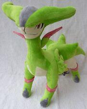 "Oficial Pokemon Tomy Takara 2011 grandes DX Virizion Felpa Suave Juguete Japón MWT 14"""